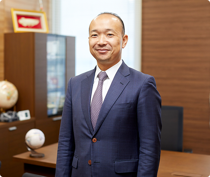 Yoshiki Hadase, President and Chief Executive Officer