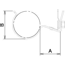 ワンタッチ吊りバンド 配管工事 工事部材 基礎 屋根 天井など 株式会社ダイドーハント